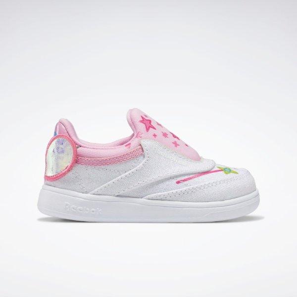 X 小猪佩奇 粉白Club C童鞋