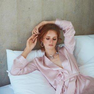 全场女装无门槛9折Derek Rose 英国高品质奢华睡衣品牌