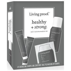 Living Proof洗发水+护发素+干发喷雾+滋养造型霜每日完美洗发护发套装