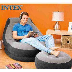 $23.22(原价$57)再降:Intex 充气式沙发连脚踏套装