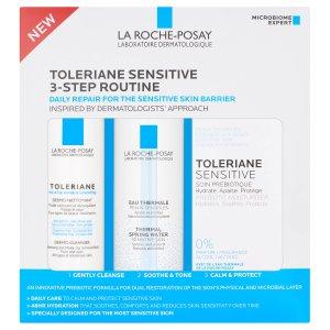 限时7.5折 €15收封面三件套La roche posay 理肤泉 洁面乳+特安霜+温泉水喷雾