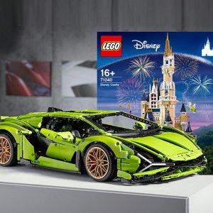 免邮中国¥2261(原价¥3320)LEGO 兰博基尼 Sián FKP 37 超级跑车 42115,近期新低