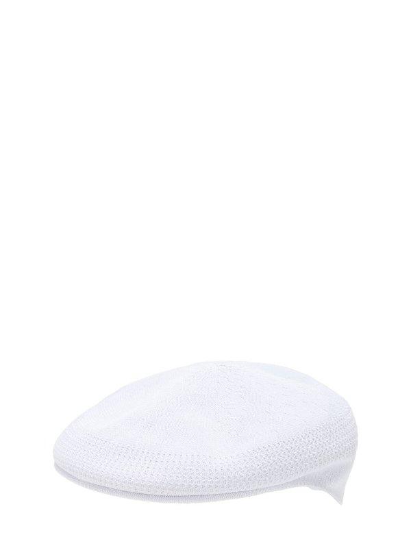 白色贝雷帽