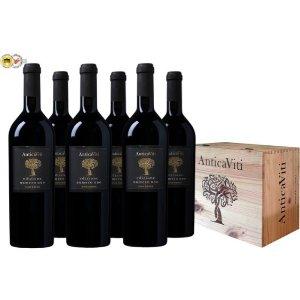 限时5折 一箱仅€59.99Antica Viti 意大利获奖葡萄酒礼盒 三大产区著名葡萄的完美融合