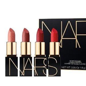 $39(价值$47.5)上新:Bloomingdale's NARS Never Enough 迷你唇膏4件套Mini Lipstick Gift Set | Bloomingdale's