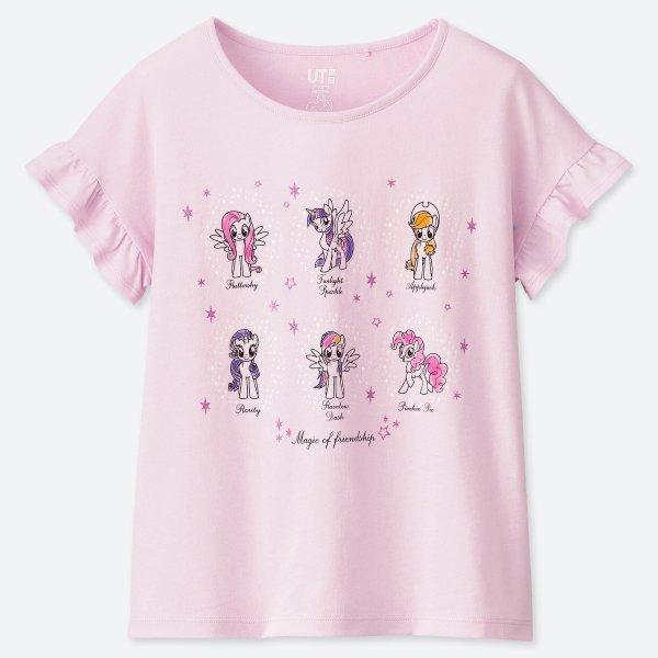 女童 MY LITTLE PONY T恤