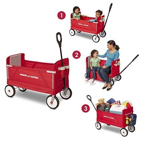 3-合-1 儿童拖车/货车