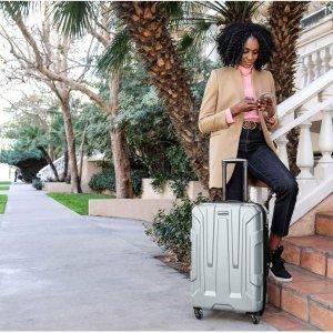 再降至¥820 非会员也免邮史低价:新秀丽 Centric系列 行李箱两件套 20寸+24寸
