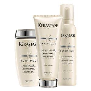 返$20、送中样Kérastase 白金赋活洗发水3件套 浓密秀发、改善扁塌