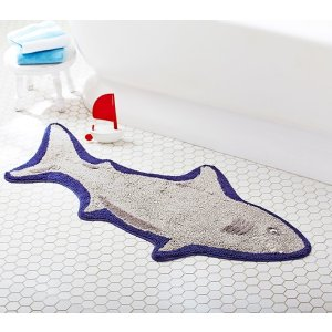 Pottery Barn KidsShark Shaped Bath Mat