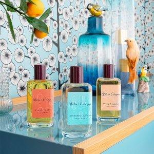 低至7折 €55.86收加州盛夏3件套Atelier Cologne 欧珑全线大促 超值收香氛套装 柑橘系小清新