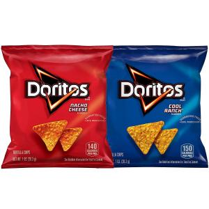 $11.88 一包$0.3Doritos 香脆玉米片 双口味综合装 40包