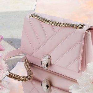 低至6折 经典蛇头钱包$349起Bvlgari 美包大促 众多新款上架、粉色蛇头斜挎包$800+收