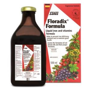 8折,提升免疫力德国 Salus Floradix 草本铁元素补充剂 女性补铁圣品