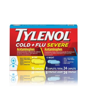 $5.51Tylenol Cold + Flu Severe Day/Night Caplets, 24 Count