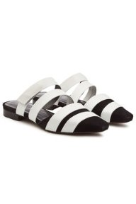 Gomesa Slip-On Sandals in Leather and Suede - Neous | WOMEN | US STYLEBOP.COM