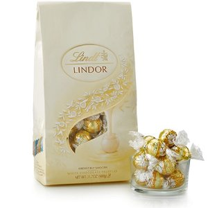 Lindt2 for $40White LINDOR Truffles 75-pc Bag (31.7 oz)