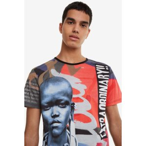 DesigualMasai Print T-shirt - Edmund | Desigual.com