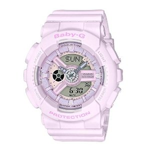 CasioBaby-G G-Shock BA-110 Series BA110-4A2 46.3mm Resin Women's Watch (Pink)