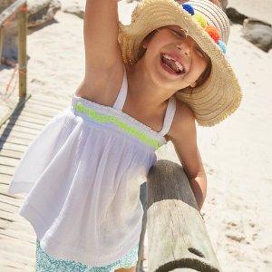 低至5折,封面款仅$9.95最后一天:Mini Boden 官网 新款春夏童装热卖,颜控妈妈的最爱