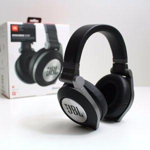 $109JBL E50 Synchros Bluetooth Over-Ear Headphones