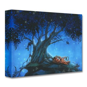 DisneyThe Lion King ''My Father and Me'' Giclee on Canvas by James C. Mulligan
