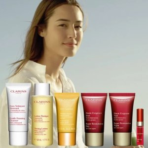 Powerful Radiance Gifton orders over $100 @ Clarins
