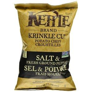 Kettle Chipsadd-on商品,需通过Subscribe & Save结账胡椒盐味 220g