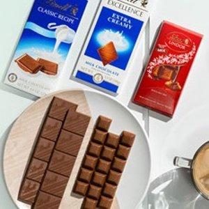 Free Milk Chocolate Bar + 30% OffLindt National Milk Chocolate Day