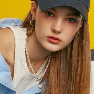 3折起+额外9折 £37收珍珠耳夹W Concept SS21复古小众首饰专场 珍珠、银链系列全参与
