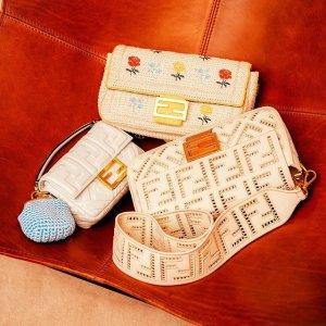 小清新法棍包上新Fendi 春季新品一览 收新款编织系列
