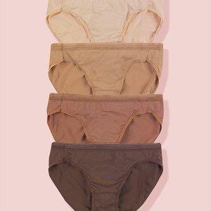 低至4折 $13.2收内裤5条装薅羊毛:Hanes 内裤热卖 $17.2收纯棉内裤5条 高腰内裤3条$18.6