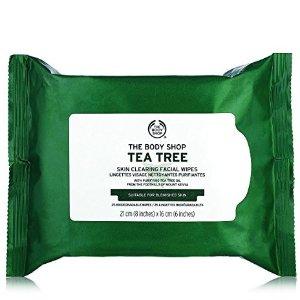 The Body Shop 茶树清洁湿巾