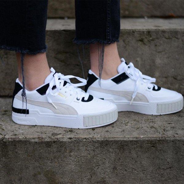 Cali Sport 拼色小白鞋