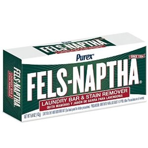 Purex Fels-Naptha Laundry Bar and Stain Remover, 5 Ounce