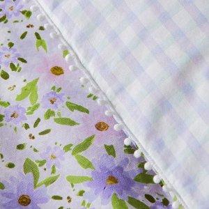 7.5折+新人立减$10Adairs官网 Pastel系列床品上新 枕套被套、格纹床单$37起