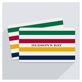 $100礼卡 $90收你们最爱的Hudson's Bay 礼卡促销
