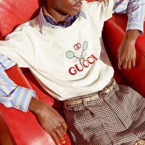 定价优势 Gucci小白鞋£366NET-A-PORTER UK 英国站大牌上新 Loewe Gate£792