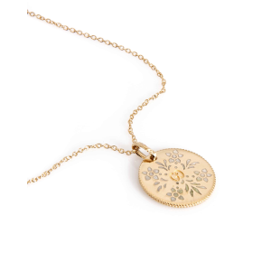 Dealmoon Exclusive:Gucci Icon 18k Yellow Gold And Enamel Pendant Necklace