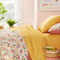 Pillowfort™ 格子图案床具套装
