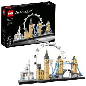 现价£39.95(原价£44.99)LEGO 乐高 Architecture 21034 伦敦景点