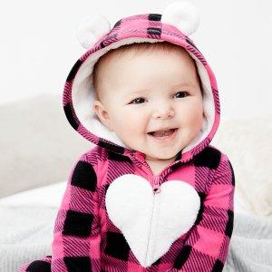 Carters 儿童服饰特卖 包臀衫平均两三刀,三件套$10.40