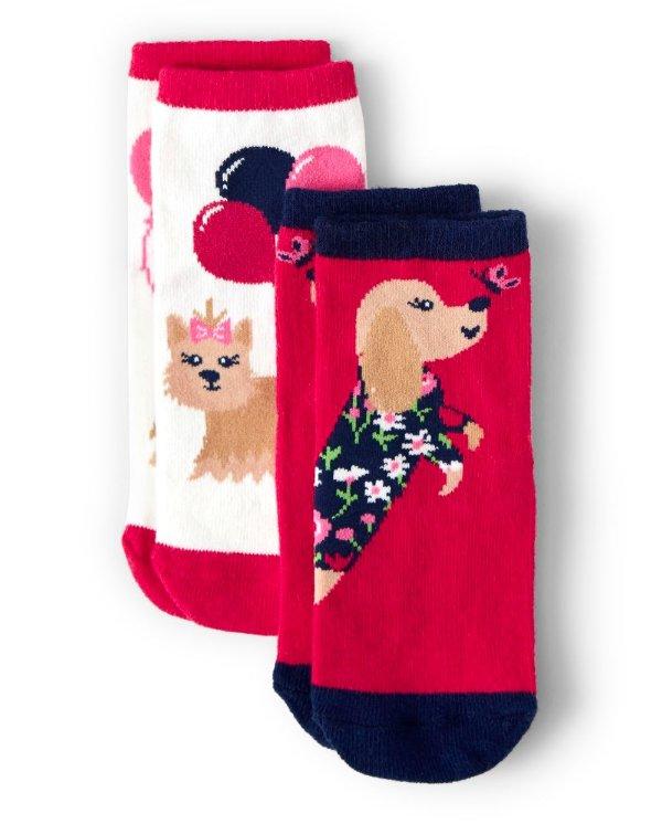 女童袜子两双