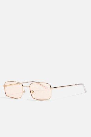 Topshop Rectangle Sunglasses