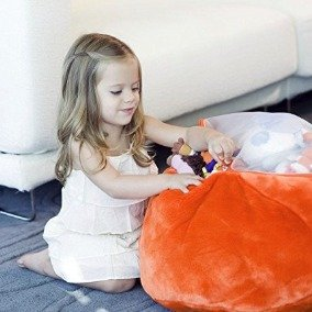 $27 Boon Animal Bag Stuffed Animal Storage,Blue @ Amazon