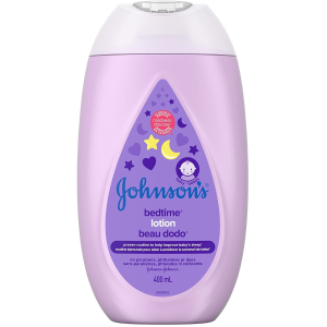 $4.25(原价$5.97)史低价:Johnson's 婴儿夜用润肤身体乳400ml 温暖宝宝香全家都可用