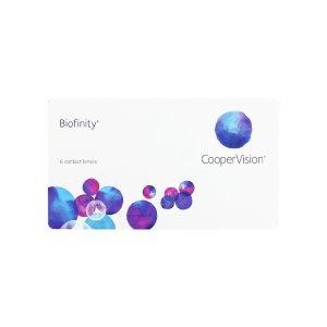 Biofinity隐形眼镜 月抛6片