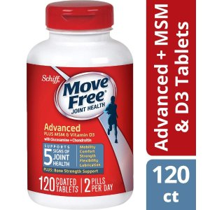 Plus MSM & D3 Advanced Joint Health Supplement Tablets