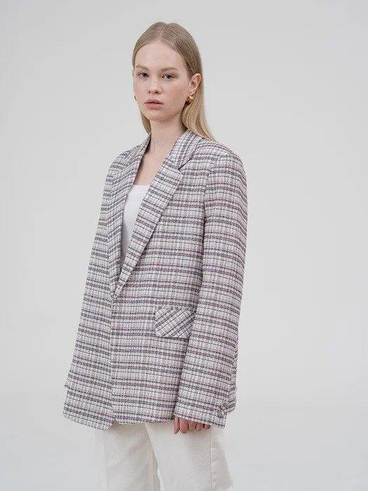 小香风编织外套