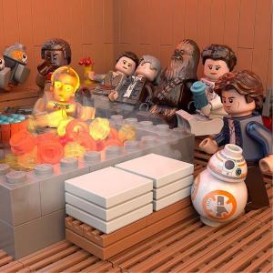 限时9折Lego 精选多款乐高限时热卖,收星战帝国军舰